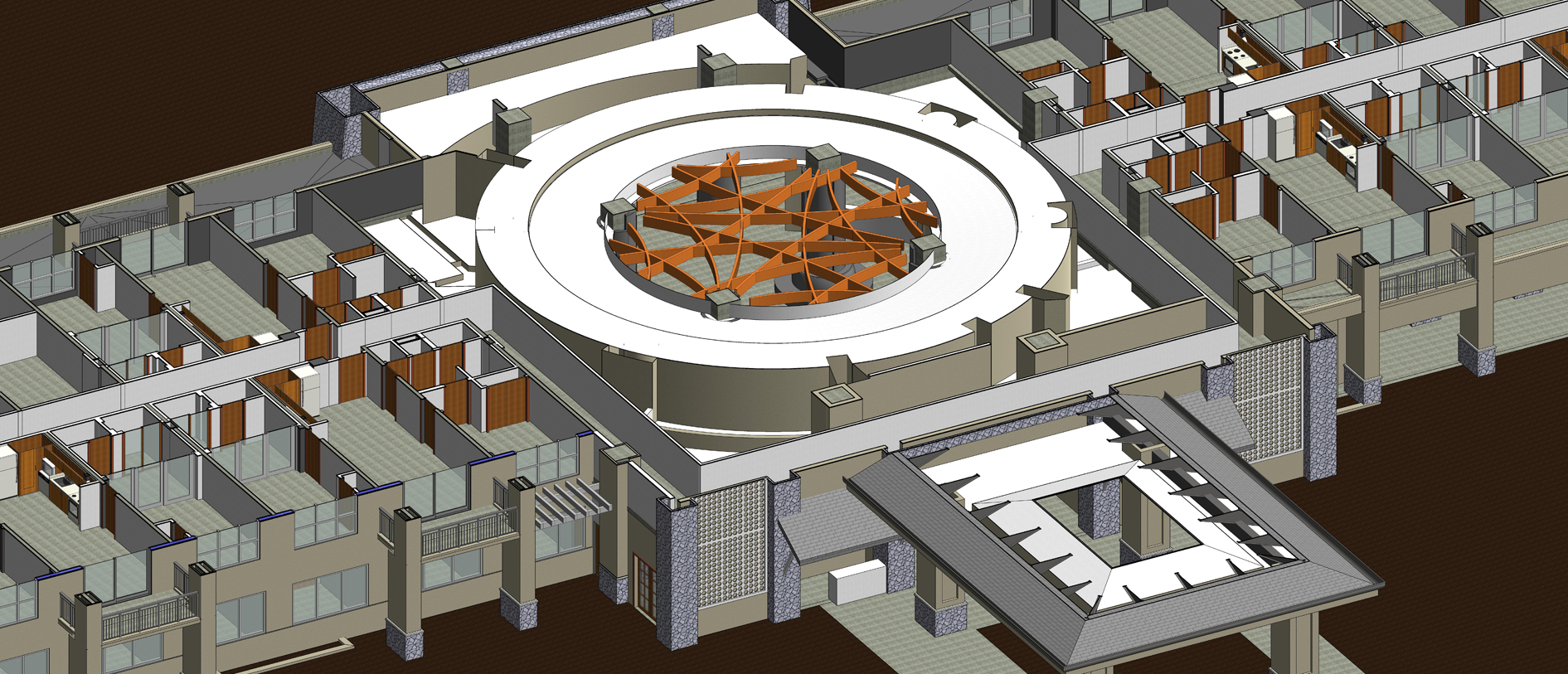 bim consulting service for a hotel building