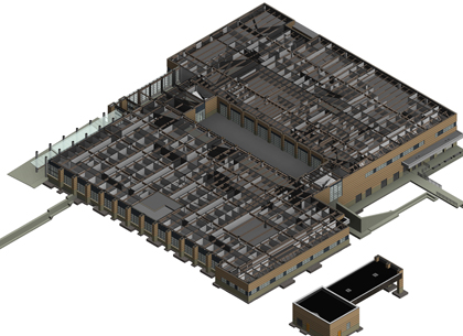 bim consulting service for a school building