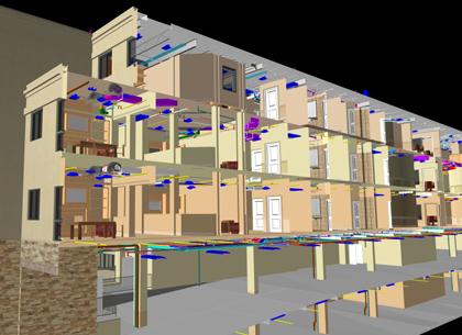 model for building for construction documentation service