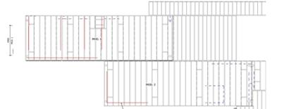 shop drawing of modular revit structural model