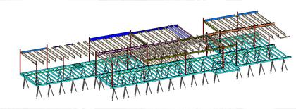 modular revit structural model