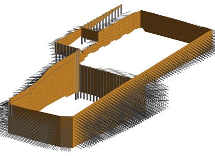 3d model for shoring
