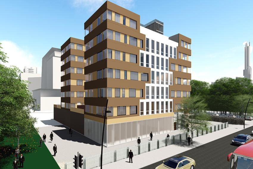 Modular BIM model of a Building