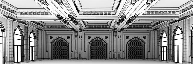 BIM model of hotel building