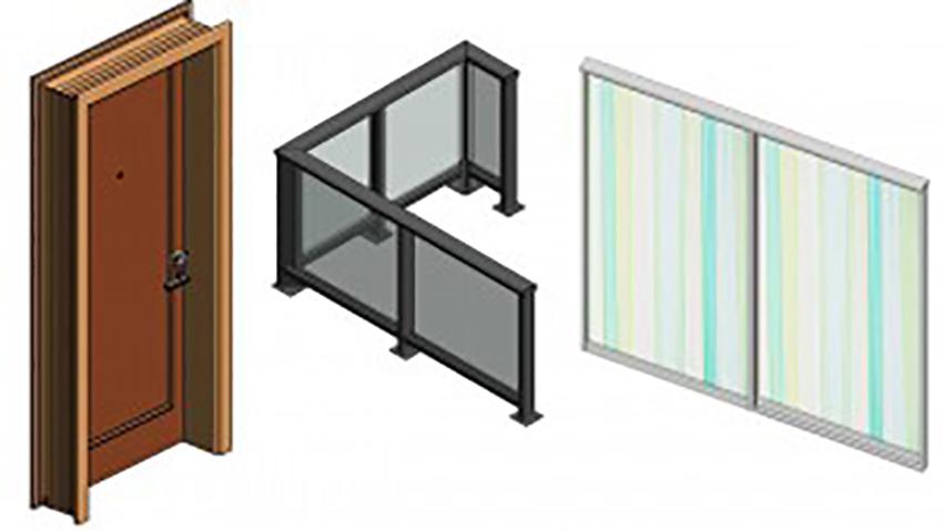 custom revit family creation for panels