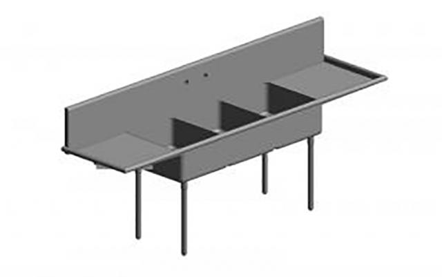 revit family creation for sink
