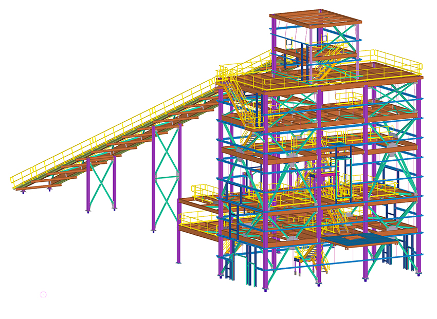 structural BIM model