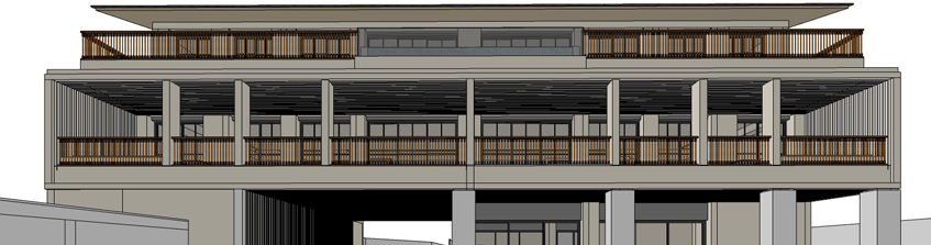 BIM design development of an old age home