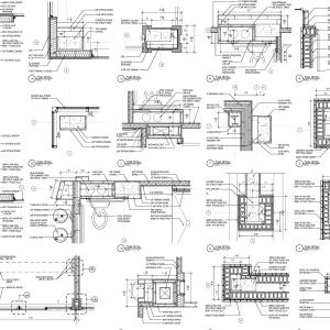 construction documentation for commercial building 1