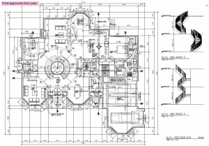 shop drawing for design development of a hotel